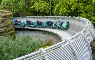 Schweizer Bobbahn im Europapark Rust