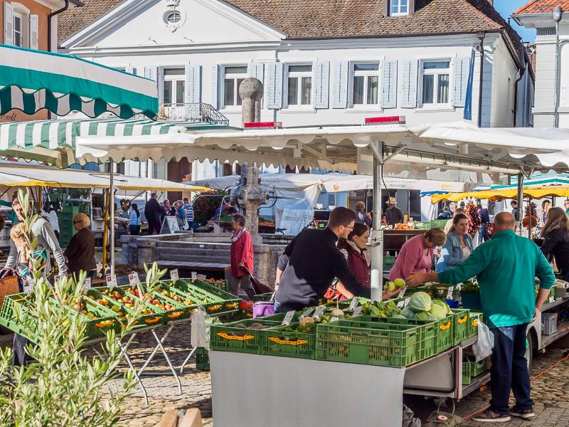 Markt in Müllheim