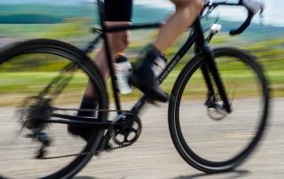 Rennrad-Fahrer im Markgräflerland