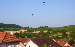 Heissluftballone über Müllheim-Vögisheim